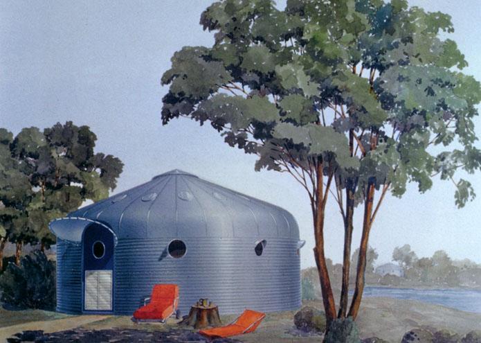 Sebastiaan Kaal The Round House Project Dymaxion